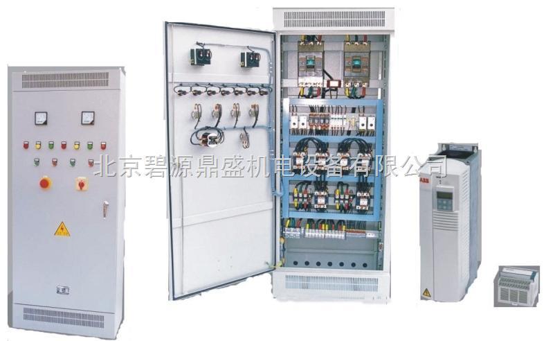 立式消防水泵一用一备降压启动变频电路图