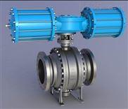 進口液動卸灰球閥www.hanwei-valve.com
