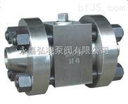 Q61N软密封高压焊接球阀,浮动式高压焊接球阀,高压焊接球阀