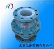 H40F46衬氟止回阀,升降式衬氟止回阀,衬氟立式止回阀
