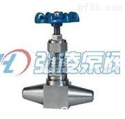 J61W焊接针型阀,高温高压对焊针型阀,电站专用针型截止阀