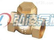 H14W黄铜锻压止回阀,黄铜丝扣止回阀,内螺纹止回阀