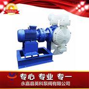 浙江温州PP塑料电动隔膜泵DBY-50聚丙烯耐酸碱电动隔膜泵