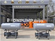 45KW河道取水农田灌溉浮筒泵|德能